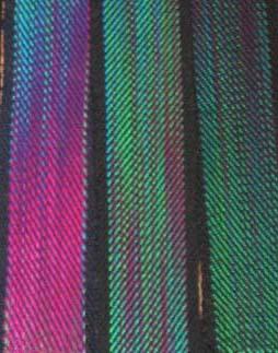 painted warp bookmarks